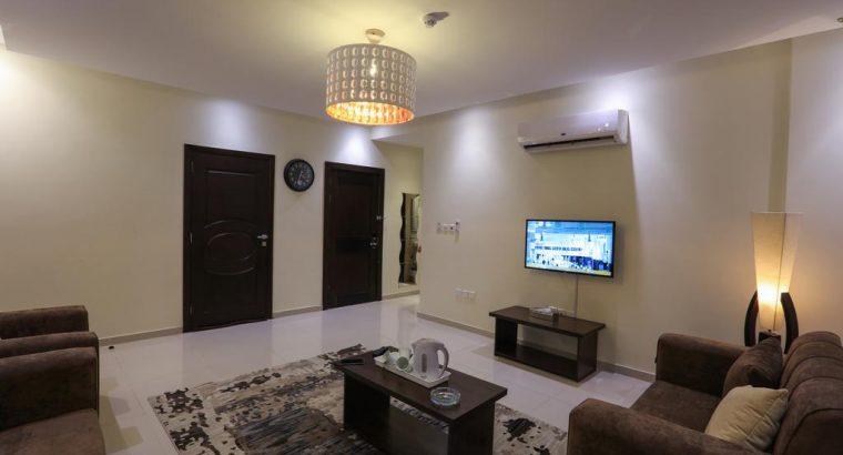 شقة مفروشة للايجار / جبل الحسين