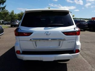 2019 Lexus LX 570 White Urgent Sale