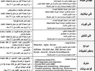 مطلوب موظفين لشركة مياه اليرموك عدة تخصصات
