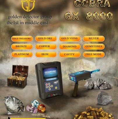 NEW METAL DETECTOR 2020 – COBRA GX 8000 2