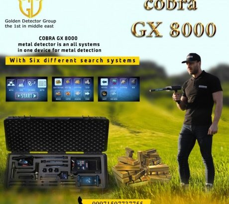 NEW METAL DETECTOR 2020 – COBRA GX 8000 4
