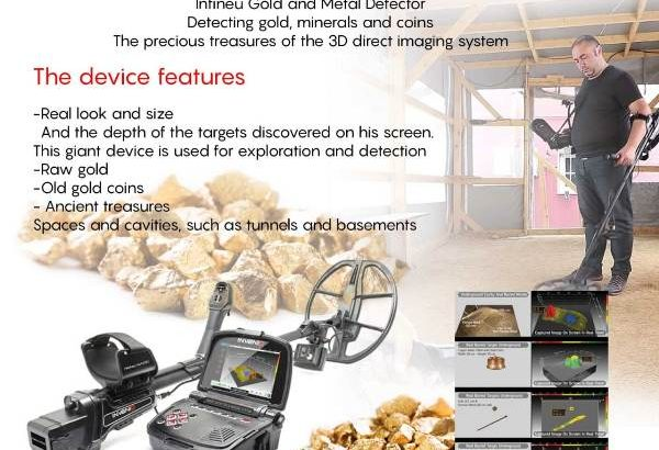 New gold and metal detectors Nokta Invenio Pro 2