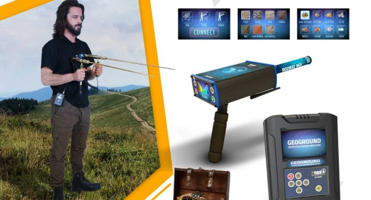COBRA GX 8000 metal detectors are an all in one device for gold detection