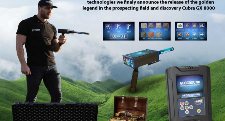 COBRA GX 8000 metal detectors are an all in one device for gold detection1