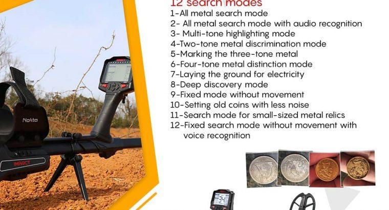 IMPACT Multi Frequency Metal Detector by Nokta2020