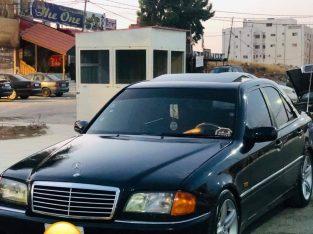 مرسيدس سي 200 1995 محولة 2000 للبيع